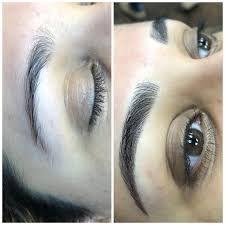 brows permanent makeup microblading