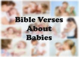 top bible verses about babies