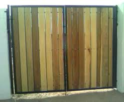 Iron And Wood Gates 8 Tall Rv Gate With Poplar Wood
