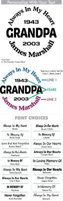 Grandpa Custom Memorial Die Cut Vinyl Car Decal Designer Series Decals In Loving Memory Car Window Decals