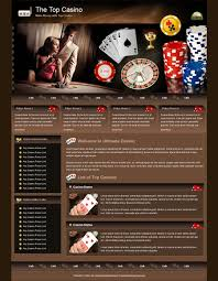Entry #19 by farzanaakhan for Re-design theme wordpress casino and ...