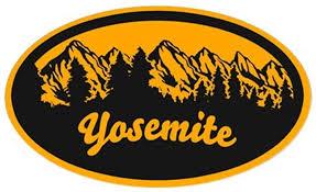 Amazon Com Cafepress Yosemite N P Oval Bumper Sticker Euro Oval Car Decal Automotive