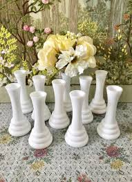 milk glass vases for wedding