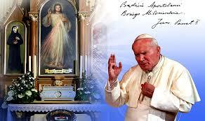 Jan Paweł II | Miłosierdzie Boże - Św. Siostra Faustyna ...