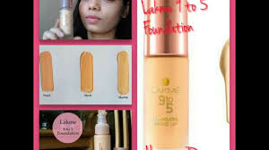lakme 9to5 flawless makeup foundation
