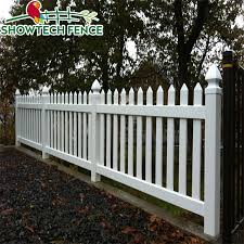 Showtech Pvc Widely Used White Garden Fence Post Cap Picket Fence Buy Fence Cheap Fence Post Cap Picket Fence Product On Alibaba Com
