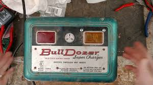 Old Bulldozer Electric Fence Charger Repair Youtube