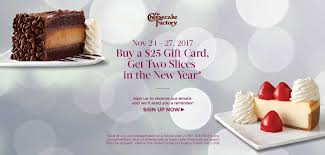 free slices w 25 gift card