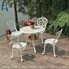 garden furniture outdoor cast aluminum