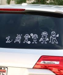 Family Stickers Family Car Decal Set Best Price And Reviews Zulily