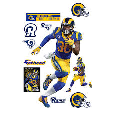 Fathead Todd Gurley Ii Los Angeles Rams 11 Pack Life Size Removable Wall Decal