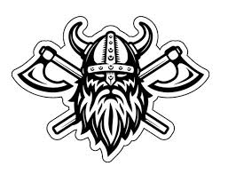 Viking Warrior Vinyl Decal Nordic Decals Old Norse Bumper Etsy