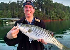 lake lanier striper fishing report