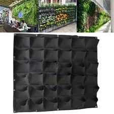 56 pocket outdoor vertical greening