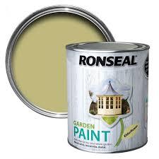 Ronseal Garden Paint 750ml Elderflower