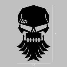 Dp Skull Decal Diesel Power Gear