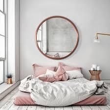 big round mirrors bedroom decor home