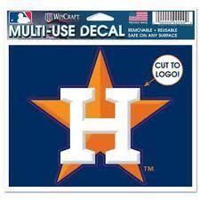 Houston Astros Mlb Decals For Sale Ebay