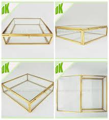 silver glass frame pendant memory box