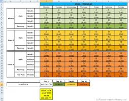 p90x workout schedule exercise pdf p90x