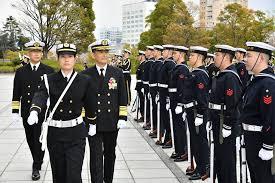 海幕長出迎え・栄誉礼 - 防衛省 海上自衛隊 (Japan Maritime Self ...