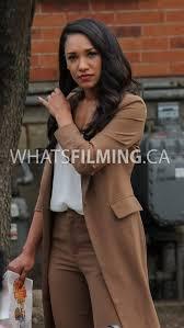 Iris West meets up with Joe & Cecile: The Flash Season 3
