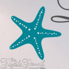 Starfish Wall Decal Stickers Large Starfish Decals Beach Decor Ideas