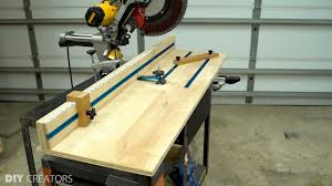Diy Creators 3 In 1 Miter Saw Station 18 Diy Creators