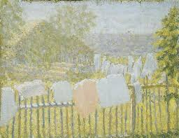 Kazimir Malevich Underwear On The Fence Oil Painting