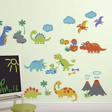 Isabelle Max Dino Friends Nursery Wall Decal Reviews Wayfair