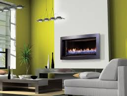 contemporary gas fireplace