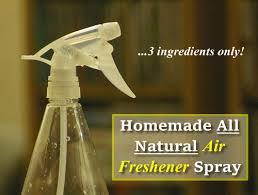 homemade natural air freshener spray