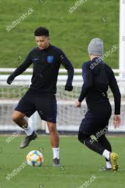 England football team training session ...