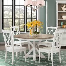 Myra White 5 Piece Dining Room Set by Riverside Furniture ...