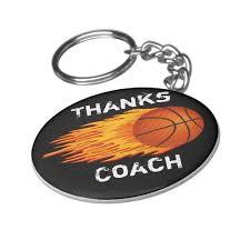 coach gift ideas basketball keychain