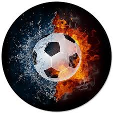 Football Ball Sports Fire Water Printed Round Carpets For Living Room Bedroom Alfombra Floor Mats Kids Room Area Rugs Floor Carpet Online Discount Carpet Tile From Shutie 54 08 Dhgate Com