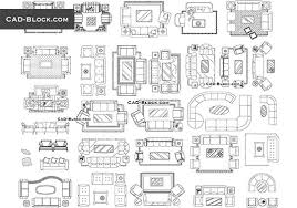 furniture cad blocks couches and sofas
