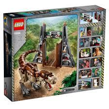 LEGO 75936 Jurassic Park: T. Rex Rampage is every Jurassic Park Lover's  dream set – Jay's Brick Blog