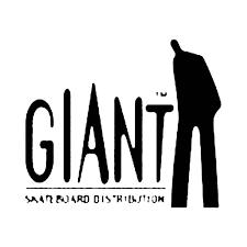 Giant Distribution Skateboard Vinyl Decal