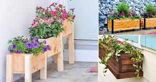 diy garden box ideas plans