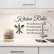 A Messy Kitchen Is A Happy Kitchen Vinyl Decal Wall Sticker Words Letters Quote Home Garden Decor Decals Stickers Vinyl Art Ayianapatriathlon Com