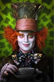 wonderland lady mad hatter makeup look