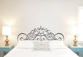 Ornate Headboard V6 Wall Decal Any Bed Size Headboard Decal Wall Decal Bedroom Decal Master Bedro In 2020 Wall Decals For Bedroom Headboard Decal Wall Decals