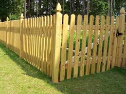 Pin On Wood Fence Designs