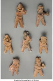 Seven Colima Figural Whistles... (Total: 7 Items) Ceramics & | Lot #70550 |  Heritage Auctions