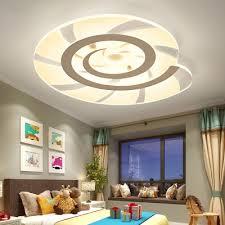 Snail Shaped Acrylic Led Kids Room Ceiling Light Takeluckhome Com
