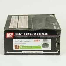 grip rite coil nails fiber cement 2 3