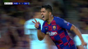 Luis Suarez - AMAZING Volley Goal vs Inter Milan 2019 ○ What A ...