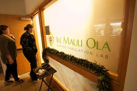 E Kamakani Hou | ʻIke Mauli Ola nursing simulation lab offers students  opportunity for hands-on learning