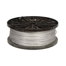 1000 Ft Aluminized Steel 12 5 Gauge Electric Fence Wire Zareba